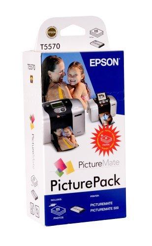 Epson PicturePack T5570 (135 x papel fotográfico, 1 x cartucho 6 ...