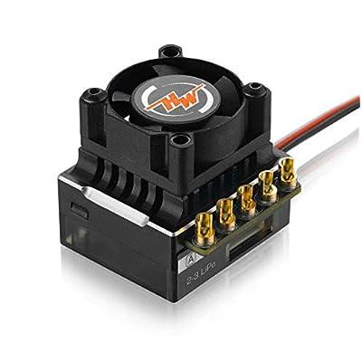 Hobbywing #30112000(Black) XERUN-XR10-Justock Zero-timing ESC for 1/10 &1/12 RC: Toys & Games