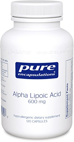 Pure Encapsulations - Alpha Lipoic Acid 600 mg - Hypoallergenic Water- and Lipid-Soluble Antioxidant Supplement - 120 Capsules by Pure Encapsulations