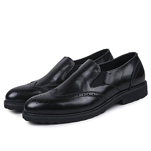 SK Studio - Zapatos de vestir brogues Hombre negro