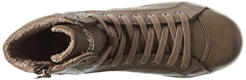 Dockers 27CH323 - zapatilla deportiva de material sintético mujer marrón - Braun (hellbraun 340)