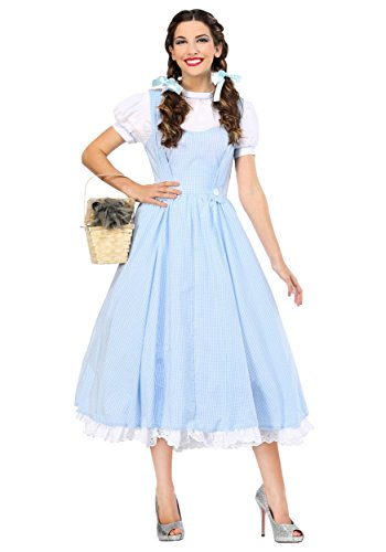 Kansas Girl Deluxe Women's Costume X-Large Blue ()