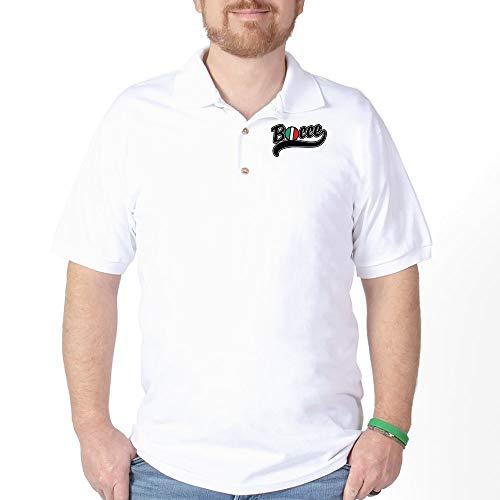 - CafePress Bocce Golf Shirt Golf Shirt, Pique Knit Golf Polo White