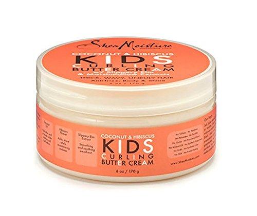 Shea Moisture Kids Curl Butter Cream Coconut & Hibiscus 6 oz