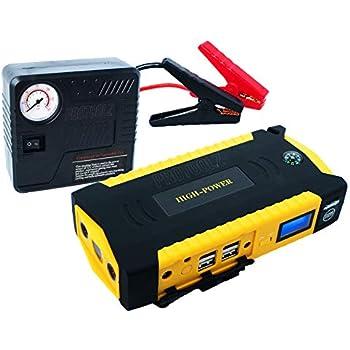 Amazon.com: ProToolz Portable Car Jump Starter & Air