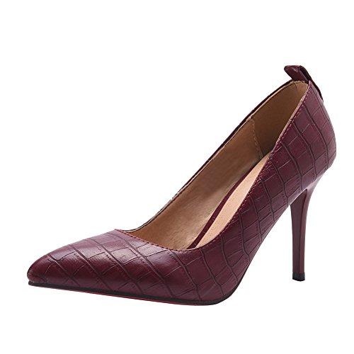 Scarpe Da Donna Con Tacco A Spillo E Stiletto Rosso Chiaro