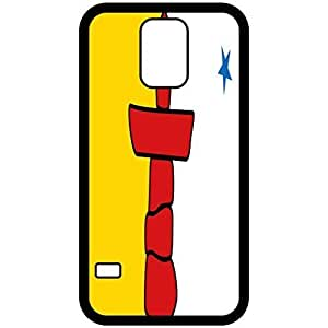 Nunavut Flag Black Samsung Galaxy S5 Cell Phone Case - Cover