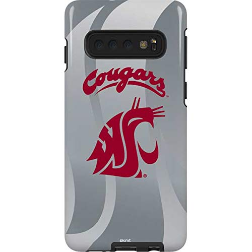 Skinit Washington State Cougars Galaxy S10 Pro Case - Officially Licensed College Phone Case Pro, Scratch Resistant Galaxy S10 ()