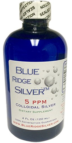 Blue Ridge Silver, 4 ounce Colloidal Silver