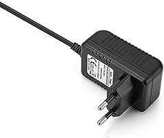 Aukru Cargador con Interruptor Micro USB 5V 3000ma Adaptador de Corriente para Raspberry Pi 3 / Pi 2 Modelo B/B +(B Plus),Negro