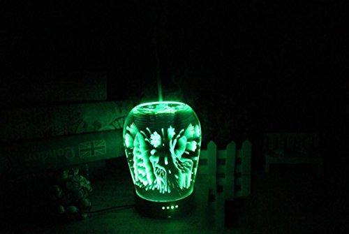 クリエイティブ新しい3D電球加湿器USB充電式ナイトライト蚊スプレーミニ超静かなデスクトップランプ空気清浄機24V