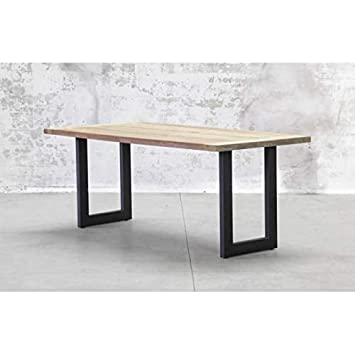Amazon Table De Cuisine.Mathi Design Table De Repas Atelier Au Style Industriel
