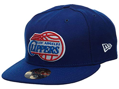 - New Era Los Angeles Clippers Fitted Hat Mens Style: HAT209-DARK BLUE Size: 7 1/2