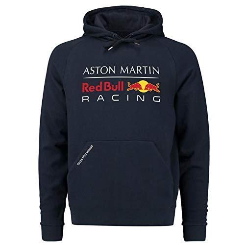 Red Bull Racing Formula 1 Men's Blue Authentic Pull Over Hoody F1 (Large)