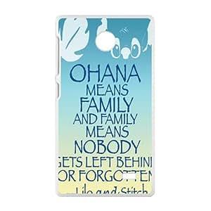 HWGL OHANA Family Cell Phone Case for Nokia Lumia X