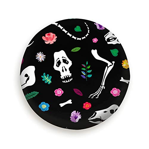 Bones Animals Among Flowers Holidays Anatomy Universal Spare Wheel Tire Cover Fit for Truck Camper Van,Jeep,Trailer, Rv, SUV Trailer Accessories