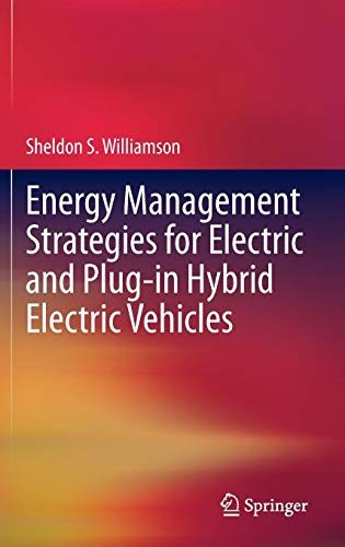 Fuel Management Interface - Energy Management Strategies for Electric and Plug-in Hybrid Electric Vehicles