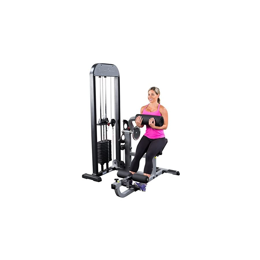 Body Solid GCABSTK3 Pro Select Ab and Back Machine with DuraFirm Padding and Adjustable Cam 310 Pound
