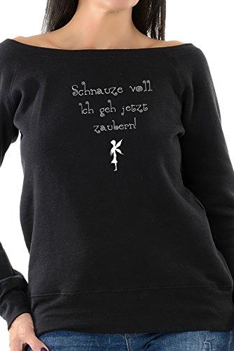 sweatshirt sprüche 3Elfen Sprüche Shirt/Schulterfreies Oberteil mit Witzigem Spruch  sweatshirt sprüche