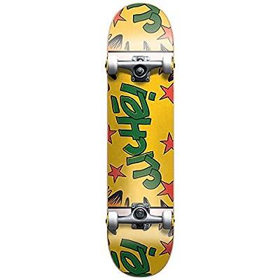 Cliché Comics Skateboard Complet Jaune/Vert 7,6