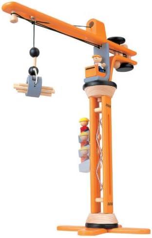 Plantoys Kran Set aus Holz (ab 3 Jahren) | KidsWoodLove