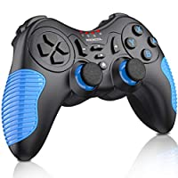 Wireless Controller for Nintendo Switch/Switch Lite, BEBONCOOL Remote Gamepad Joystick for Nintendo Switch Controller Support Turbo Function, Motion and Dual Vibration – Blue