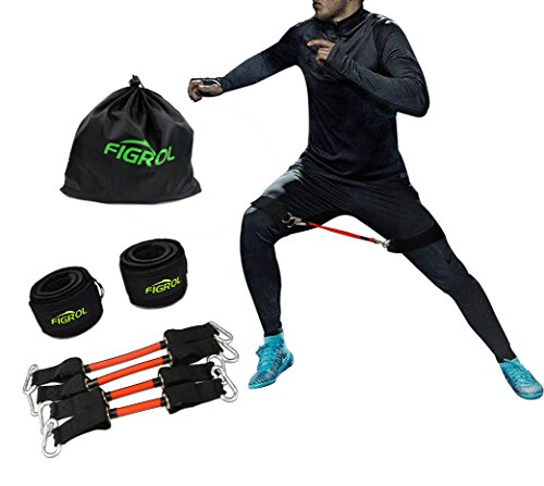 FIGROL Resistance Bands Speed Agility Training Strength