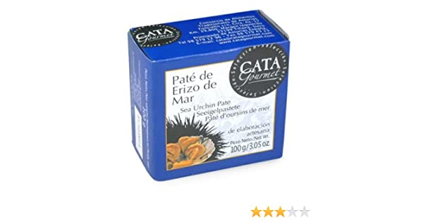 Amazon.com : Pate de Erizo de Mar - Sea Urchin Pate by La Tienda : Grocery & Gourmet Food