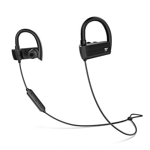 TaoTronics Bluetooth Headphones Earphones Adjustable