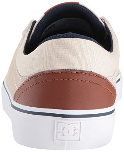 DC Shoes Mens Trase S Skate Low Top Shoes color carne