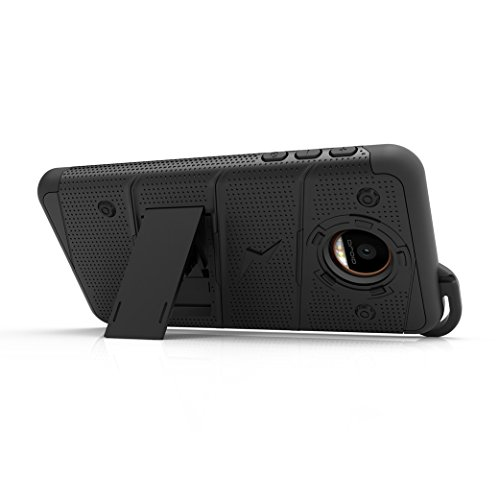 buy popular 33057 81ae2 Zizo Bolt Series Compatible with Motorola Moto Z Case Military ...