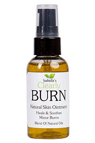 Isabella's Clearly BURN, Natural Ointment Heal Burns, Scratches, Scars. Soothe Skin quickly, Fast Relief Remedy. All Natural Healing w/ Pure & Essential Oils, Olive, Lavender, Aloe Vera. 2 - Rid Get Of Scratches