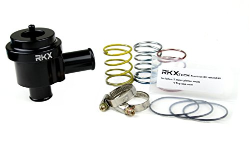 RKX 1.8T 2.7T Precision machined Diverter Valve BLACK for VW & Audi MK4, B6, B5, C5 - Blow Off 1.8t