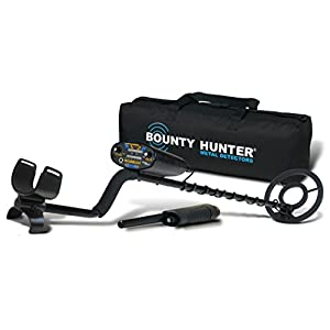 Bounty Hunter QD2GWP-PL Quick Draw II Metal Detector with Pin Pointer and Carry Bag