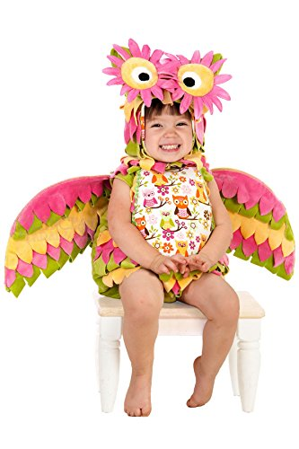 Princess Paradise Baby Hootie The Owl Deluxe Costume, As Shown, 3T-4T