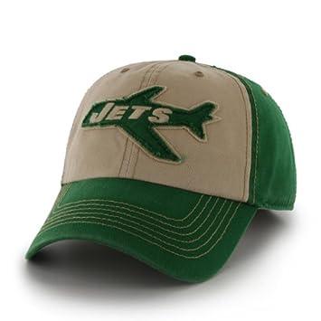 san francisco 482d7 d4c14 New York Jets 47 Brand NFL Yosemite Vintage Wash Adjustable Hat - Green   Amazon.co.uk  Sports   Outdoors