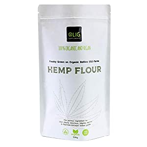OLIG Supplements Organic & Vegan Hemp Flour (5...