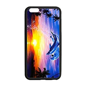 """Beautiful leaping dolphins Case for iPhone 6 plus 5.5"""""""