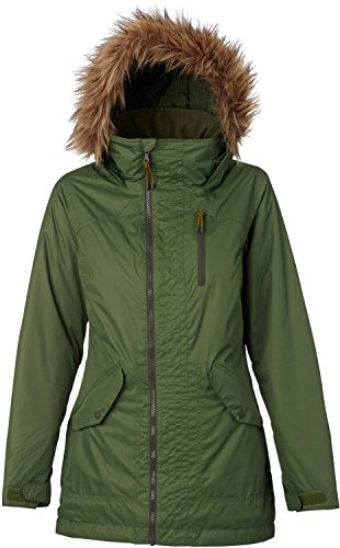Burton Women's Hazel Jacket, Rifle Green, Small