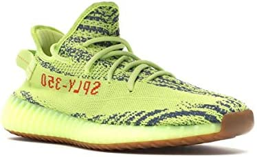 2d0a1297b1182 adidas Yeezy Boost 350 V2 Semi Frozen Yellow Unisex (44): Amazon.com