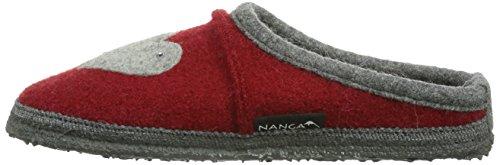 rot Rosso Pantofole 22 Nanga Herz Donna xIZwC8q