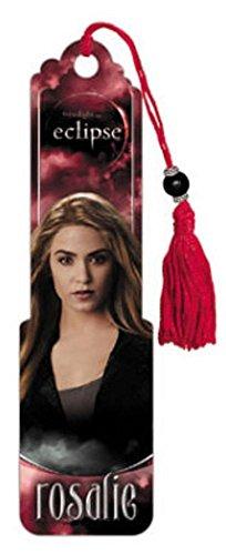 (2x6) Twilight Eclipse Movie (Rosalie) Beaded Bookmark