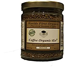 Organic Mocha Instant Coffee Jar 2.35 oz 48 servings