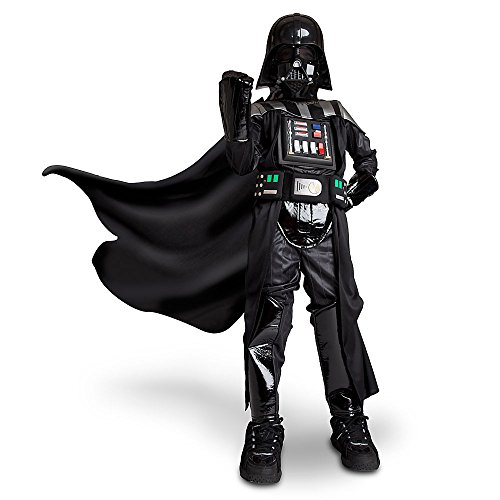 Disney Store Light Up Darth Vader Halloween Costume Size S 5 - 6 5T Star Wars