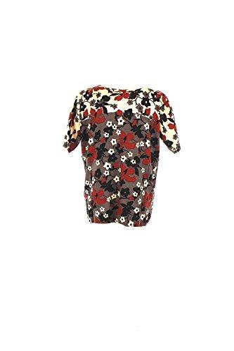 T-shirt Donna Twin-set XL Cenere Ja63cv Autunno Inverno 2016/17