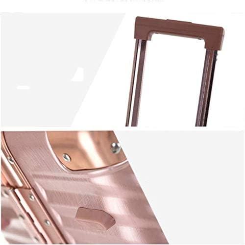 BXDYA スピナーホイール付き拡張可能な鞄、ケース搭乗ユニバーサルホイールスーツケースハンド荷物のスーツケース (Color : C)