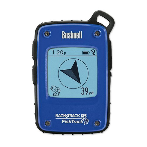 Bushnell FishTrack Personal GPS Tracking Device, Blue/Black by Bushnell