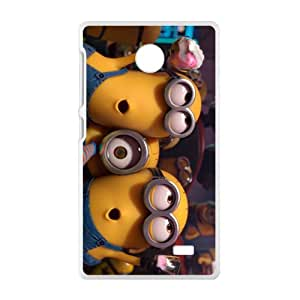 HRMB Mischievous Minions Cell Phone Case for Nokia Lumia X