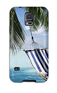 Galaxy S5 Case Slim [ultra Fit] Beach Hammock Protective Case Cover