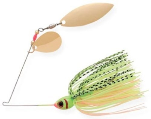 BOOYAH Blade - Tandem Blade - Chartreuse Perch - 3/8 oz